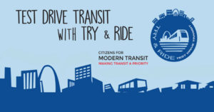 Test drive transit with try and ride.