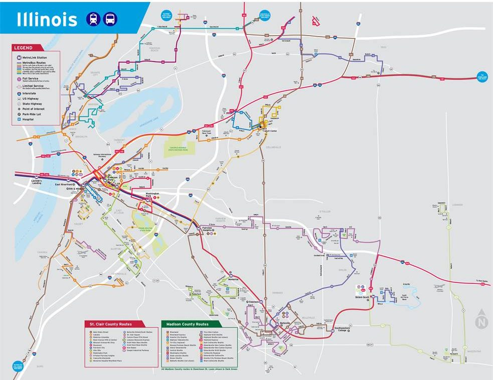 Transit Vision 2020 - St  Clair County Transit District